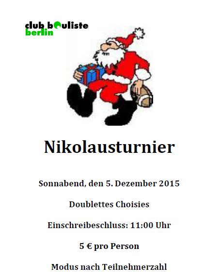 Nikolausturnier 2015